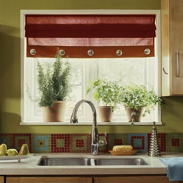 римские шторы для кухни фото новинки 2017 фото 4