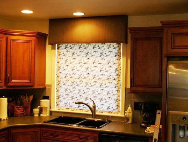 рулонные шторы для кухни фото новинки 2019