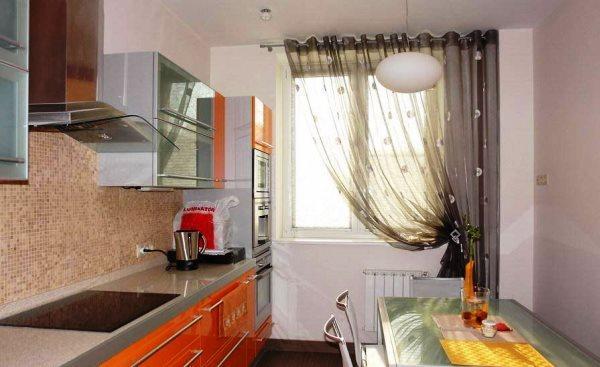 занавески на кухню 2016 фото 3