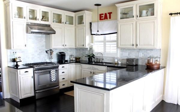 идеи для маленькой кухни 4.5 квадратов дизайн фото хрущевка фото 3