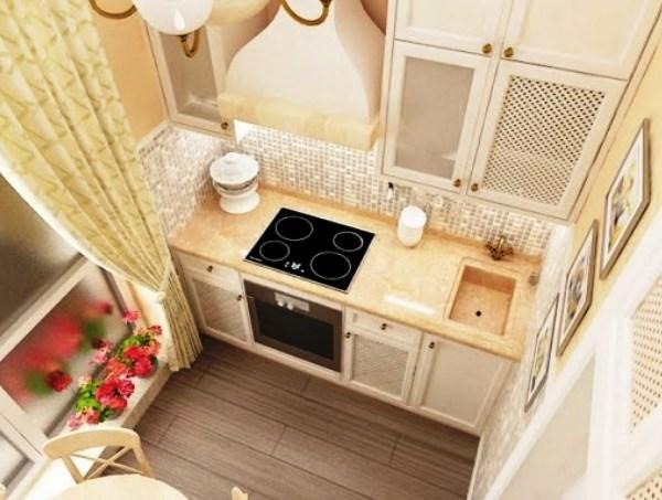 идеи для маленькой кухни 4.5 квадратов дизайн фото хрущевка фото 6
