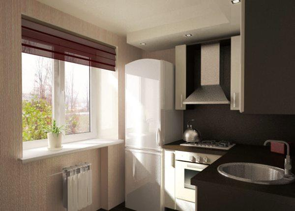 идеи для маленькой кухни 4.5 квадратов дизайн фото хрущевка фото 9