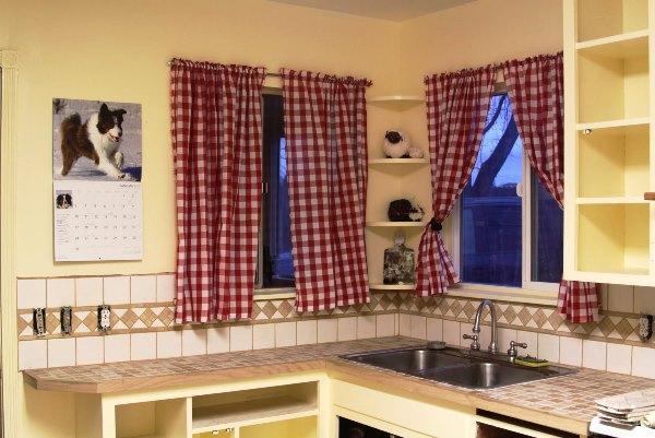 короткие шторы для кухни новинки 2021 фото 4
