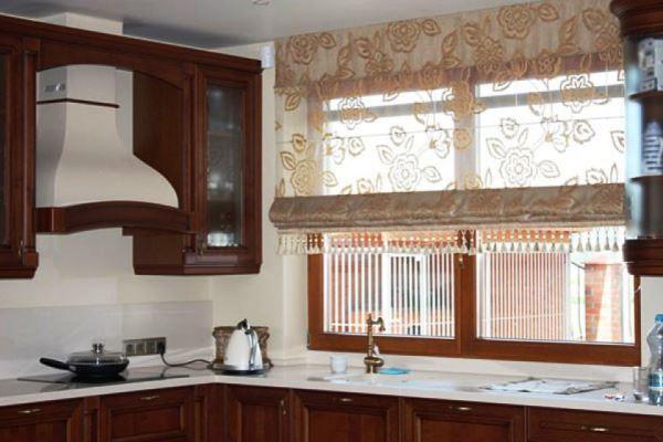 короткие шторы для кухни новинки 2021 фото
