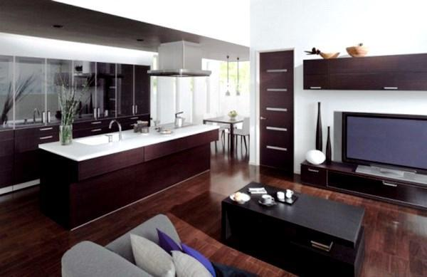 кухни студии фото