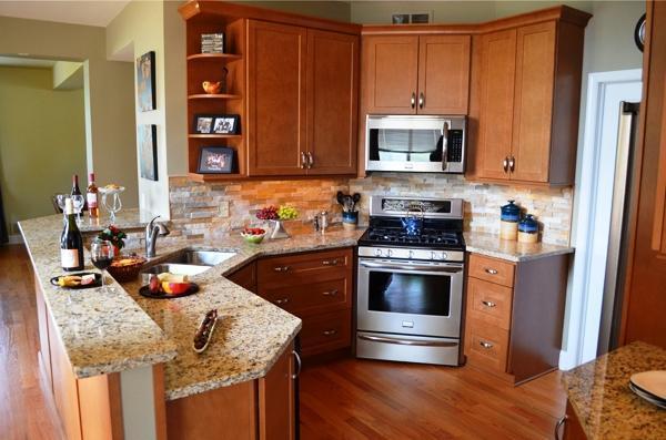 кухни угловые и их схемы фото 2
