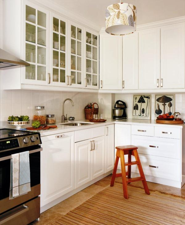 малогабаритные угловые кухни классика дизайн фото