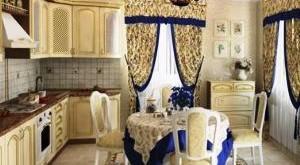 шторы в стиле прованс для кухни фото