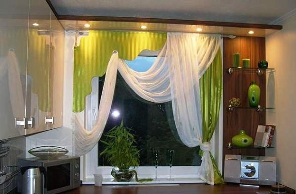 шторы на кухню фото 2021 современные короткие фото