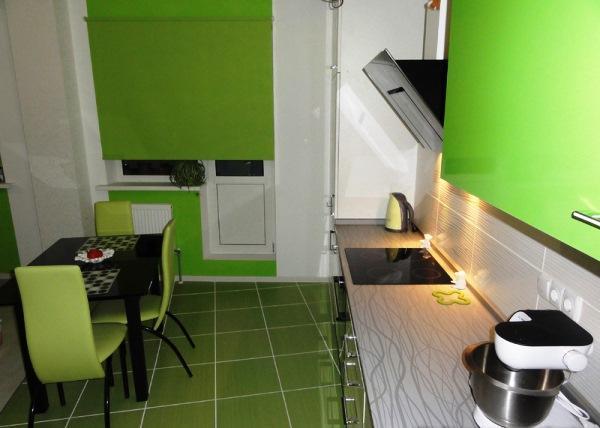шторы на кухню фото 2021 современные короткие к зеленой кухне