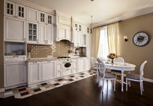 шторы на кухню в стиле прованс фото 5