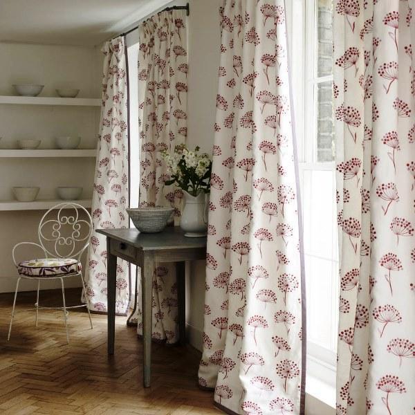 шторы на кухню в стиле прованс фото 6