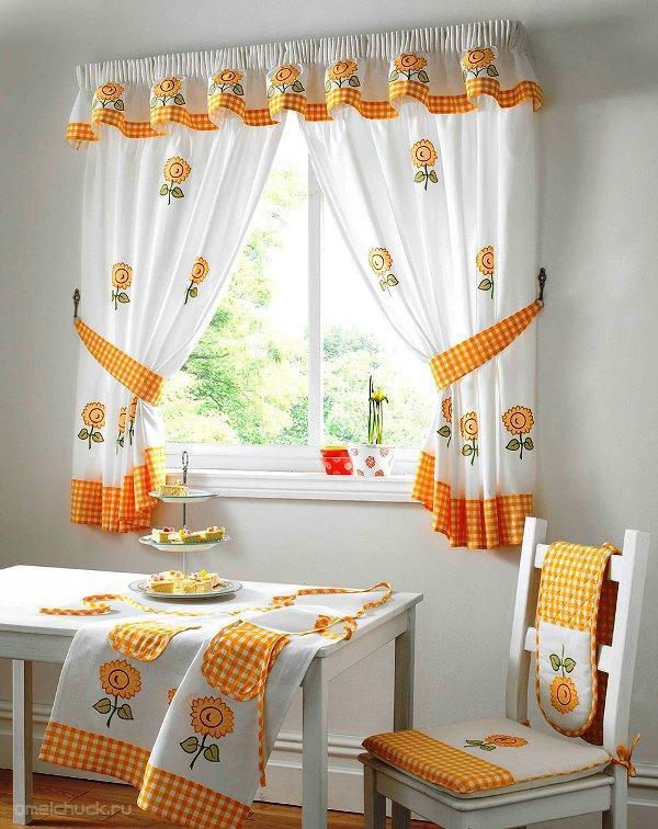шторы на кухню в стиле прованс фото 7