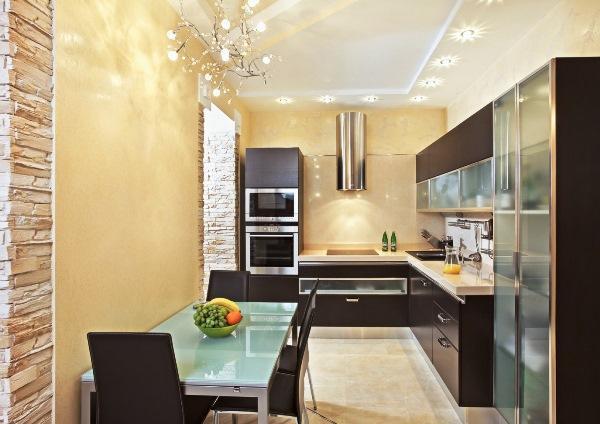 Дизайн стен кухни фото 2019 современные идеи