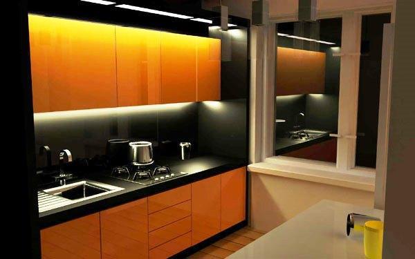 Современные идеи кухни 6 кв м фото 2019