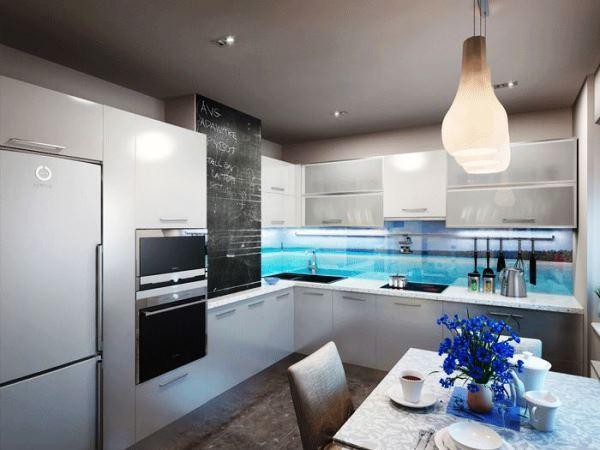 Современные идеи интерьера кухни 12 кв.м фото 2019