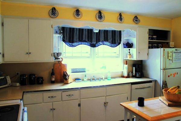 современные короткие шторы на кухню своими руками фото 2019
