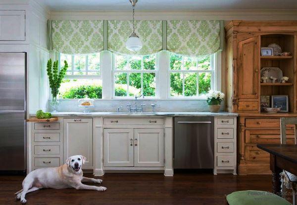 современные шторы на кухню фото 2019 в маленькую кухню своими руками