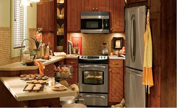 дизайн кухни в малогабаритных квартирах фото