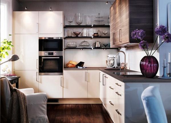 дизайн кухни в малогабаритных квартирах фото 6