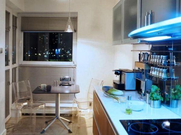 дизайн кухни в малогабаритных квартирах фото 7