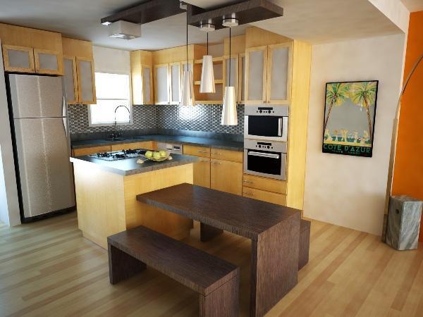 дизайн кухни в малогабаритных квартирах фото 9