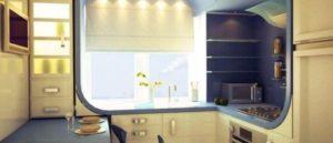 дизайн кухни 5.5 кв м фото 26