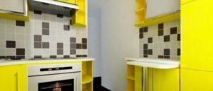 дизайн кухни 5.5 кв м фото