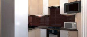 дизайн кухни 5.5 кв м фото 9
