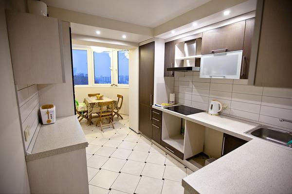 Дизайн кухни фото 9 кв метров фото в панельном доме с балконом