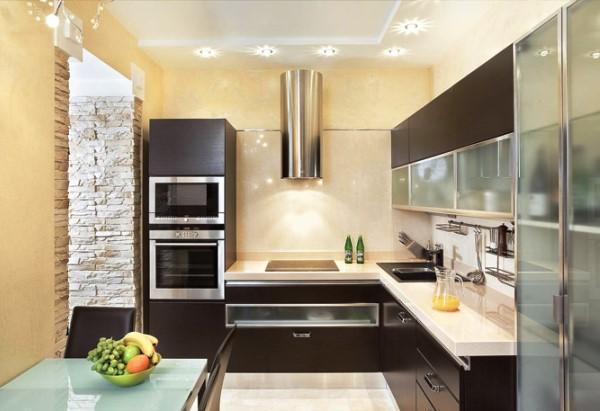 Дизайн кухни фото 9 кв метров фото в панельном доме