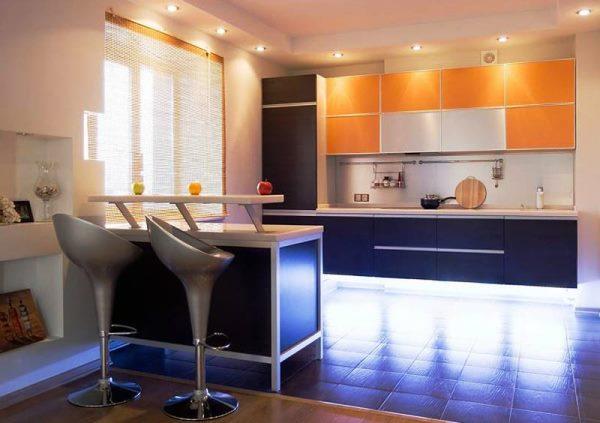 Дизайн кухни фото 9 кв метров фото в современном стиле фото