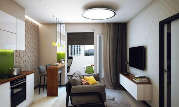 Дизайн кухни фото 9 кв метров фото в современном стиле с диваном