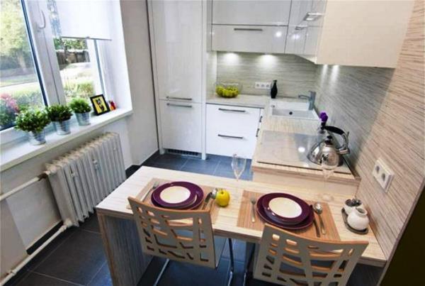 дизайн небольшой кухни в квартире фото 10