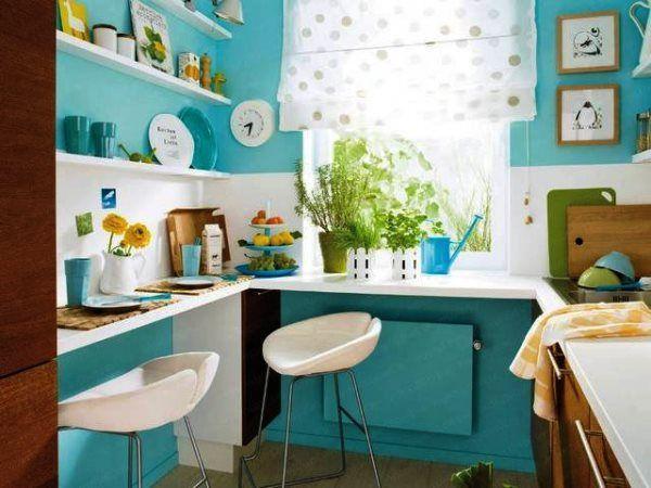 дизайн небольшой кухни в квартире фото 2