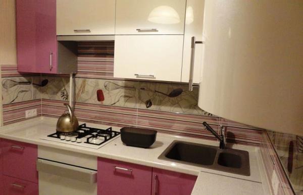 дизайн небольшой кухни в квартире фото 8