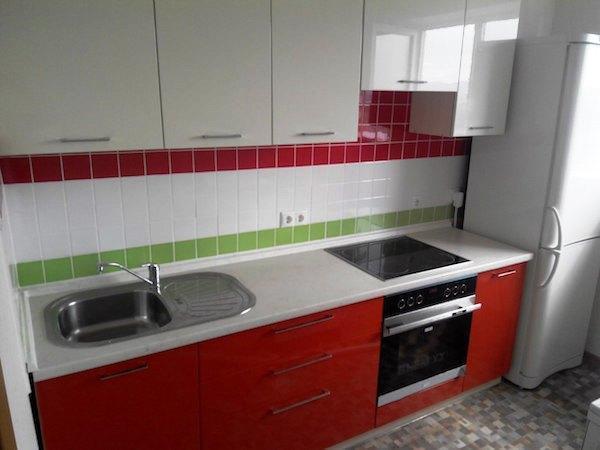 Кухни в хрущевке фото дизайн малогабаритные 6 кв.м с колонкой