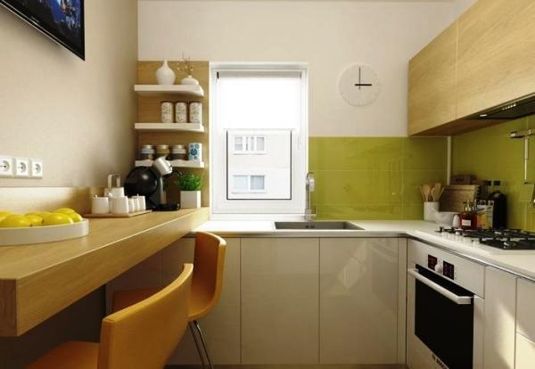 маленькие кухни 5.5 квадратов дизайн фото 10