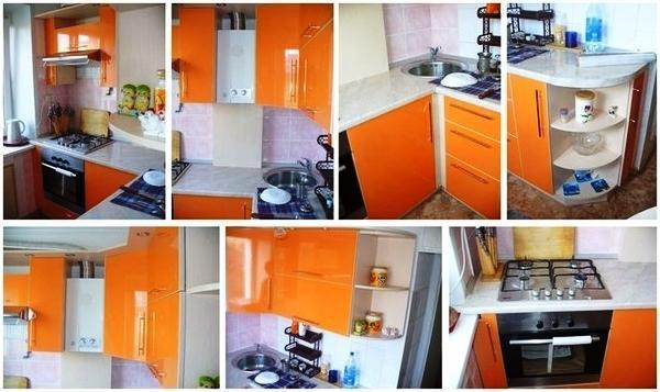 маленькие кухни 5.5 квадратов дизайн фото 2