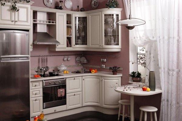 маленькие кухни 5.5 квадратов дизайн фото 5