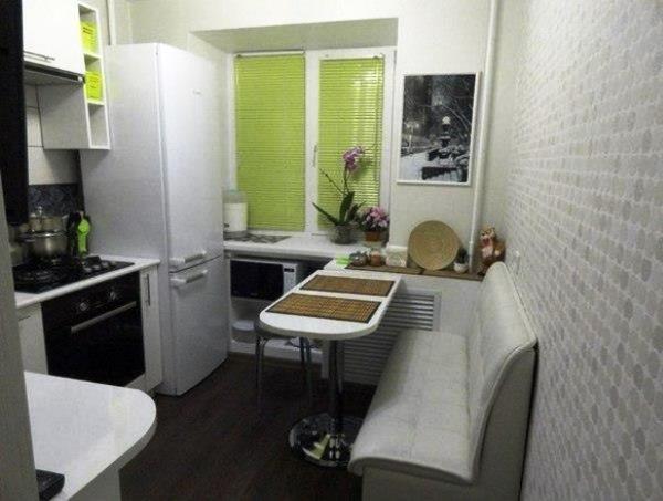 маленькие кухни 5.5 квадратов дизайн фото 6