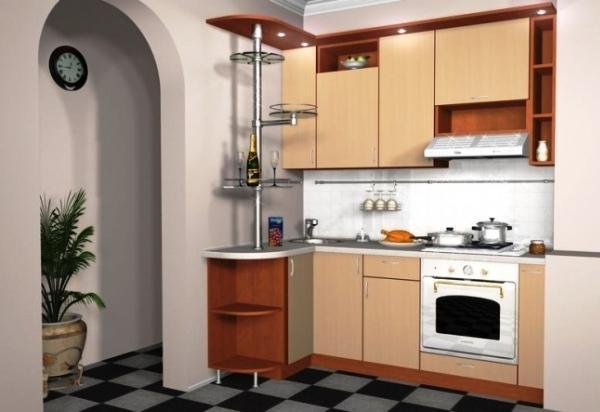 маленькие кухни 5.5 квадратов дизайн фото 7