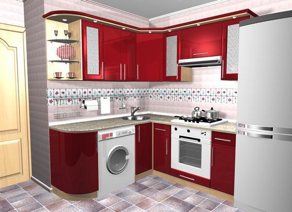маленькие кухни 5.5 квадратов дизайн фото 8