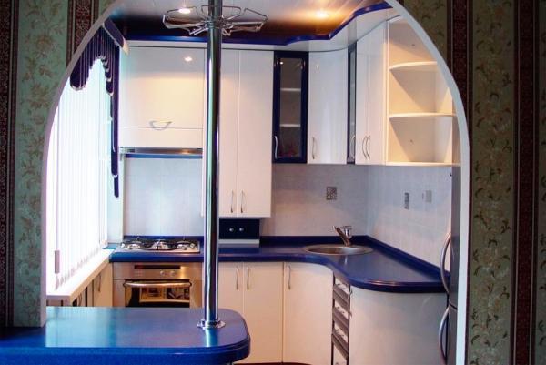 маленькие кухни 5.5 квадратов дизайн фото 9