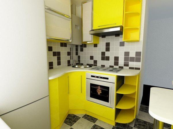 маленькие кухни 5.5 квадратов дизайн фото
