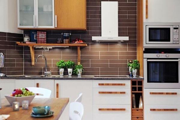 современный дизайн кухни 9 кв м фото 2