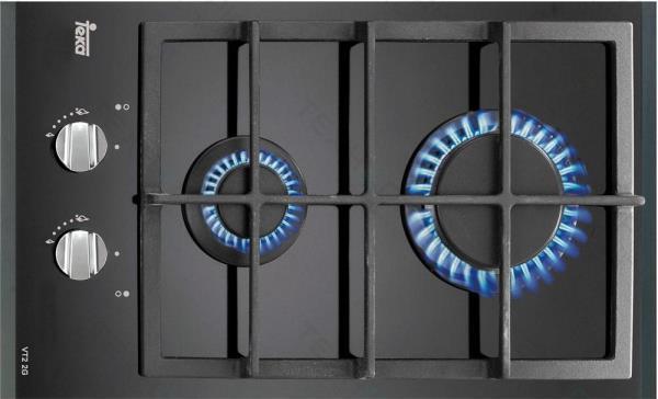 варочная панель газовая 2 х конфорочная встраиваемая фото 6