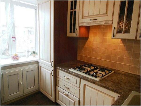 Мебель для маленькой кухни в хрущевке фото