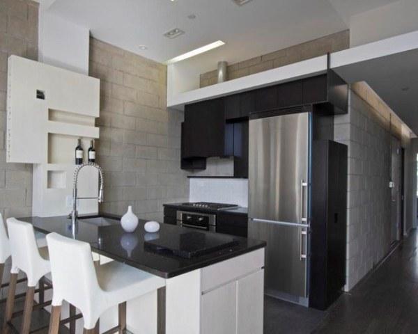 интерьер кухни фото 10 кв метров фото с холодильником