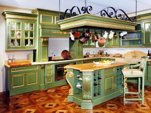 Красивые классические кухни фото интерьеров 2019 год